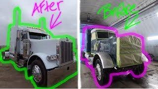 Download 379 Peterbilt Restoration Project - Fast Forward Recap ( McDonald Chrome Shop ) Mp3 and Videos