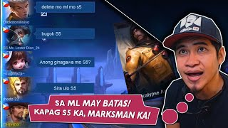 Sa ML may Batas! Kapag S5 ka, Marksman Ka!