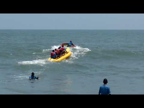 Banana ride at cherai beach