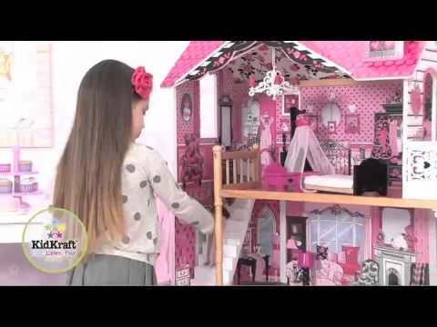 Casas de mu ecas kidkraft casita de mu ecas amelia 65093 - Casa de munecas ...