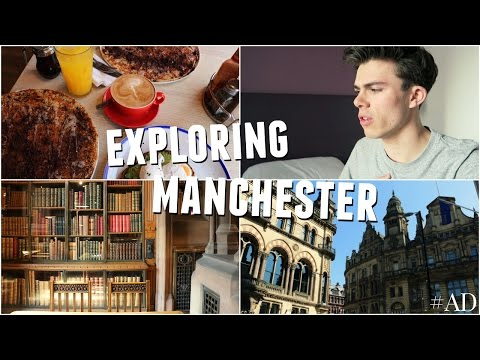 VLOG: Exploring Manchester with GoEuro  AD  Jack Edwards