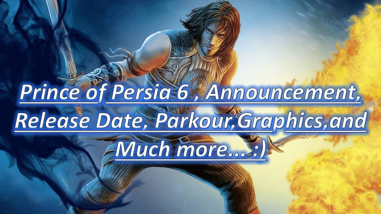 Дата выхода игры принц персии 6