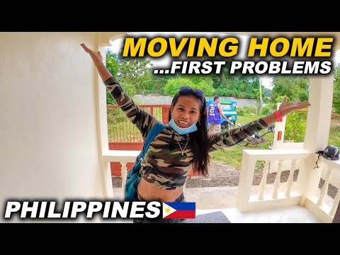 FIRST DAY IN A NEW HOME AND FIRST PROBLEMS | PHILIPPINES