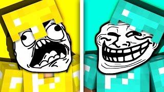 НУБ vs. ПРО — Майнкрафт Троллинг