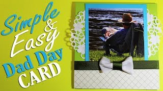 Father's Day Card - DIY Fathers Gift Card - Simple and Easy Idea 55