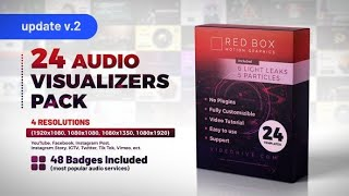 Audio Visualizers Pack (Videohive After Effects Templates)