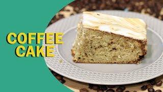 Coffee Cake | Cinnamon Coffee Cake | कॉफ़ी केक | Best Coffee Cake | Food Tak
