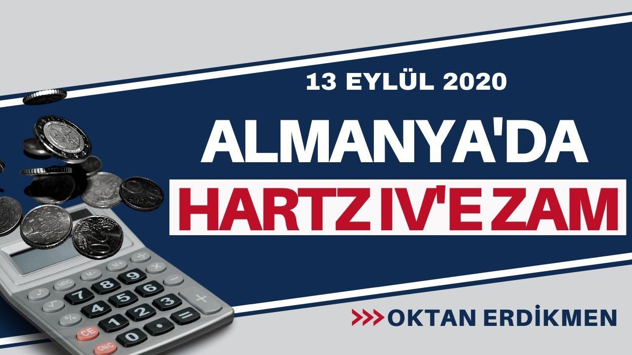 Almanya'da Hartz IV'e zam - 13 Eylül 2020 Oktan Erdikmen - YouTube