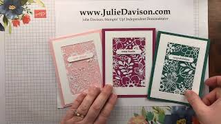 Speed Stamping: Delightfully Detailed Laser Cut Cards