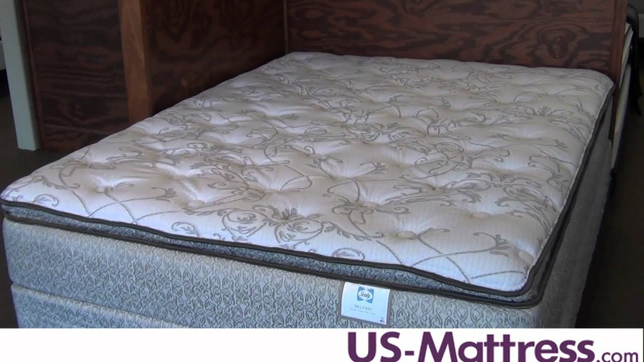 Sealy Belfair Plush Euro Pillowtop Mattress