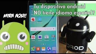 Como instalar idioma español en Android | Cualquier marca | #ViernesDeAndroid