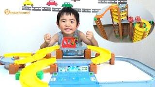 トミカシステム チャージトミカ パトロールカーセットで遊びました(^^) ...