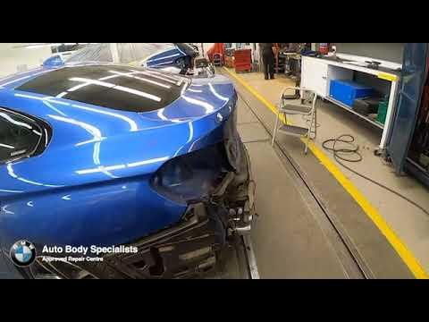 BMW Blue F23 Tailgate Repair