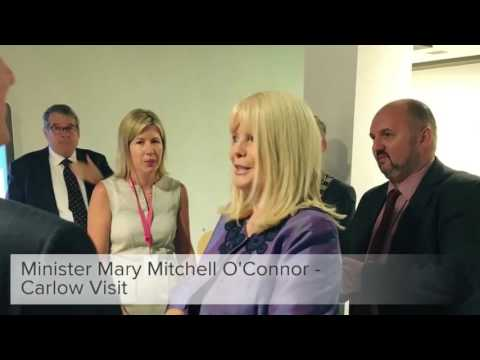 Minister Mary Mitchell O'Connor - Carlow Visit