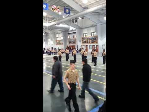 Harold L. Richards NJROTC 2014 Area 3 Drill Competition Armed Exhibition drill team