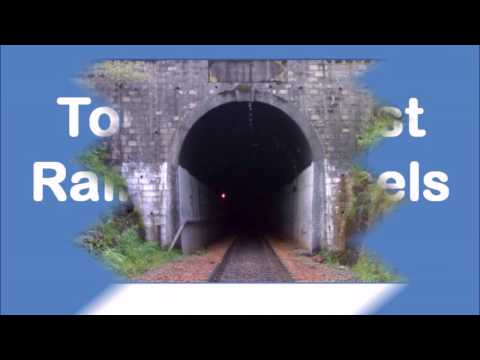 Top 5 Longest Railway Tunnels in India!