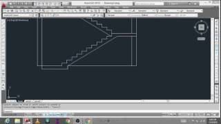 HOW TO DRAW A DOG LEGGED STAIRCASE