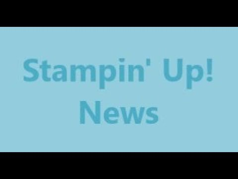 LAST CHANCE PRODUCTS and NEW PAPER and PRODUCT SHARES - STAMPIN' UP! (V1069)