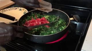 How to Cook Chef Jojo's Collard Greens (Sukuma Wiki)