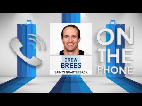 Saints QB Drew Brees Talks Rough Passer Penalties & More w/Rich Eisen   Full Interview   9/25/18