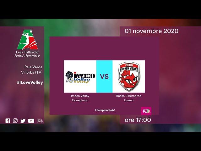 Conegliano - Cuneo | Speciale | 9^Giornata Campionato | Lega Volley Femminile 2020/21
