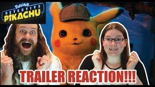 Detective Pikachu (2019) Trailer #1 Reaction