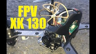 XK X130 T 5.8 GHZ FPV Jumper T8SG PLUS DR1 Eachene OTG Drone Flight Review