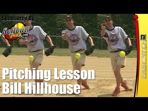 Fastpitch Softball Pitching Lessons - Bill Hillhouse