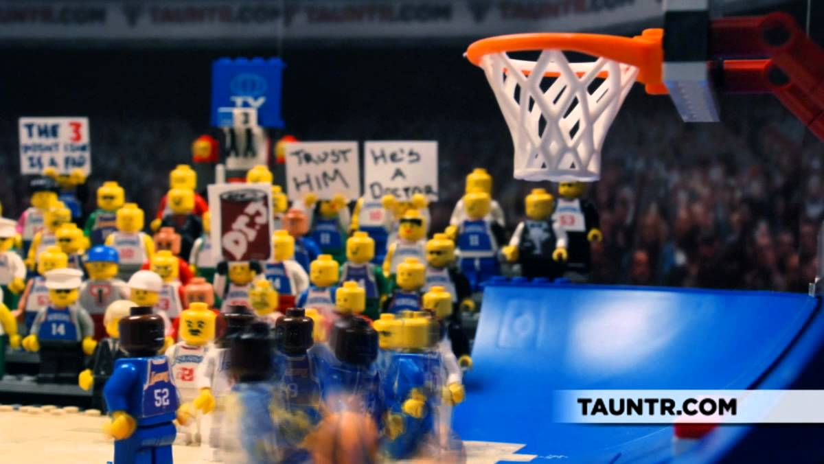 5 Greatest NBA Finals Moments Legoized - YouTube