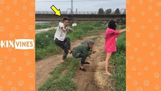 Funny videos 2019 ✦ Funny pranks try not to laugh challenge P56