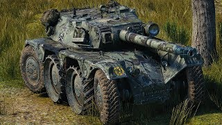 World of Tanks Panhard EBR 105 - 8 Kills 10,4K Damage