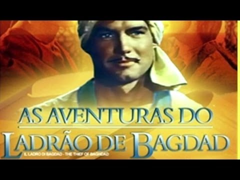 Trailer: As Aventuras do Ladrão de Bagdad / A Rosa Azul (1961)