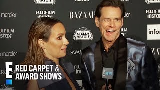 Jim Carrey Sounds Off on Icons and More at NYFW 2017 | E! Red Carpet & Award Shows Video