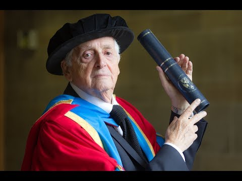 Harry Benson CBE receives honorary degree from GCU