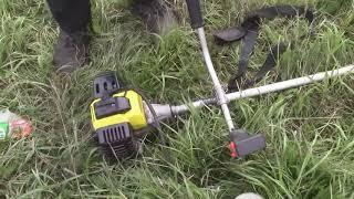 обзор: триммер бензиновый Калибр БК-1800