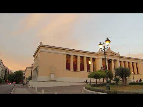 Walk around Athens City Centre in Greece 5