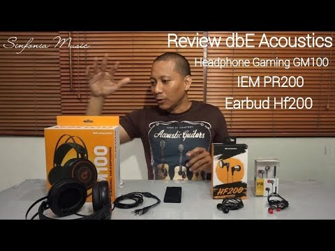 Review 3 Produk baru dari dbE Acoustics Headphone Gaming GM100 IEM PR200 dan Earbud HF200