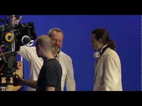 Cъемки фильма Воображариум Доктора Парнаса