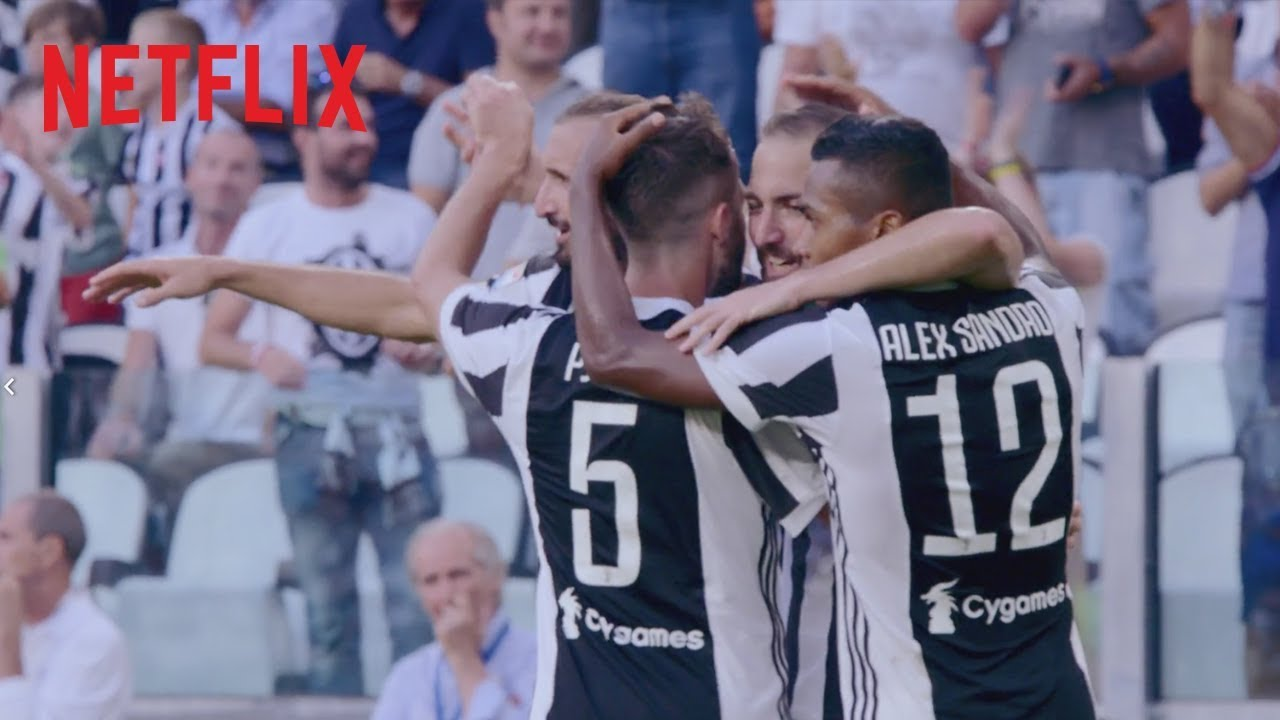 TRAILER: First Team: Juventus coming to Netflix 16 February