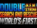 "COD: Ghosts - WORLDS FIRST DOUBLE ""SEARCH & RESCUE"" KEM STRIKE!"