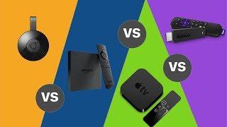 Chromecast vs Firestick vs Roku