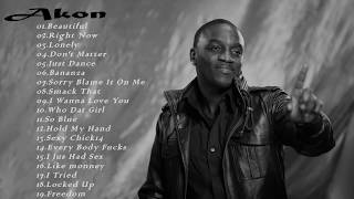 Akon Playlist-Full Album Akon Of All Time