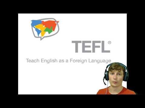 Online TEFL Course Pt1