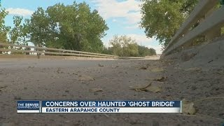Reported haunted bridge in Arapahoe County drawing teens, concern from landowner