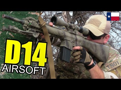 D14 Airsoft Gameplay - From Noobs to Die Hard Players