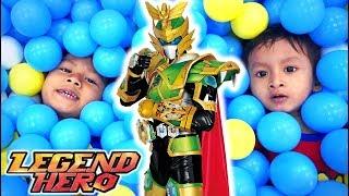 Bermain Petak Umpet Bersama Legend Hero Ganwu Imperial Joun Hero Piece di Playground Mandi Bola
