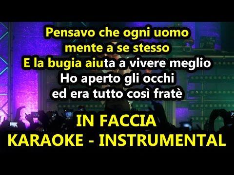 Marracash: IN FACCIA (Karaoke - Instrumental)