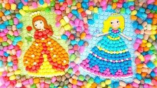 Набор для детского рукоделия, украшаем платья принцесс