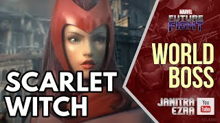 [Marvel Future Fight] Scarlet Witch World Boss! thumbnail