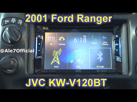 2001 Ford Ranger JVC Double Din DVD/ JVC KW-V120BT Overview